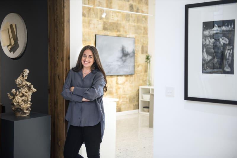 Marie Gallery 5 Founder Maria Galea