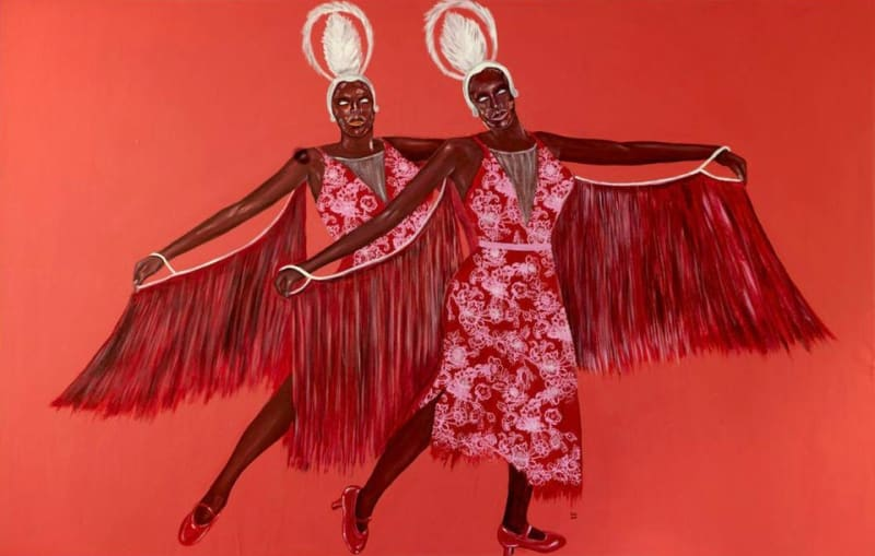 'GO-GO SISTERS IN RED' MARUANI MERCIER GALLERY