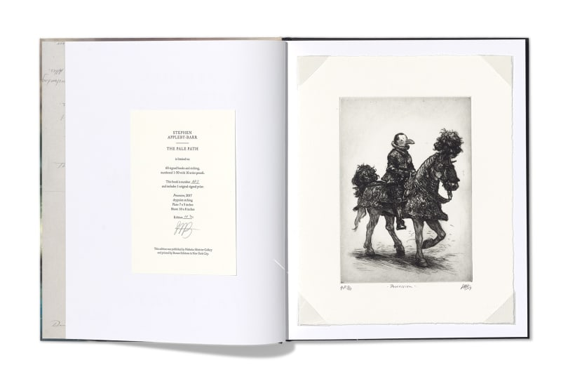 Stephen Appleby-Barr | The Pale Path Limited edition book & drypoint etching