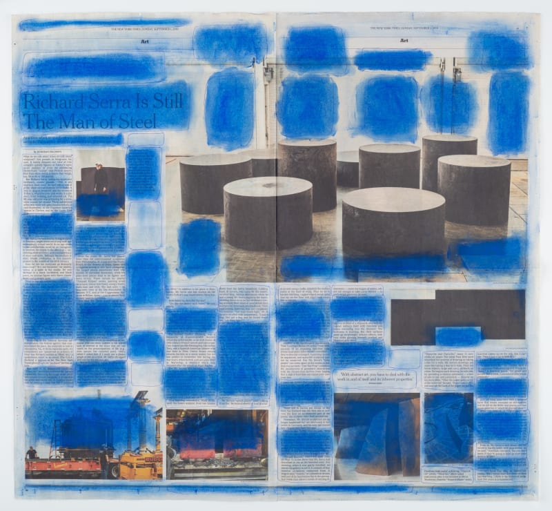Yvette Taminiau Blue on Serra, 2019