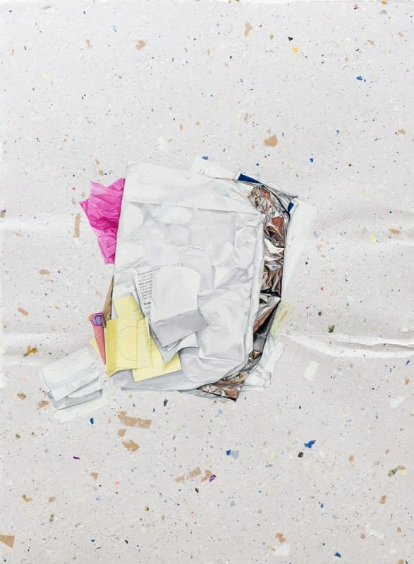 Marita Hewitt, 'Of Itself (Et Cetera)', 2017, watercolour on handmade paper, 93.5 x 66 cm.