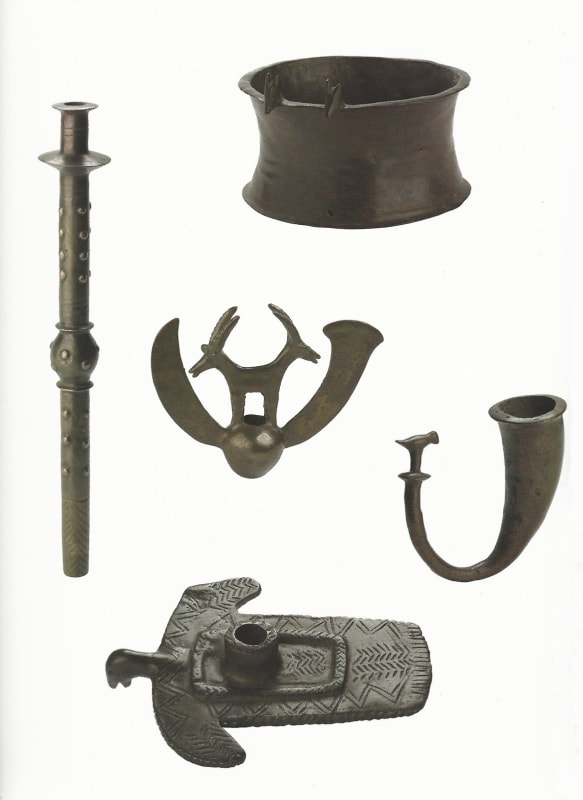 Ceremonial objects from the Nahul Mishmar, Israel, c.3700 BCE, Israel Antiquities Authority