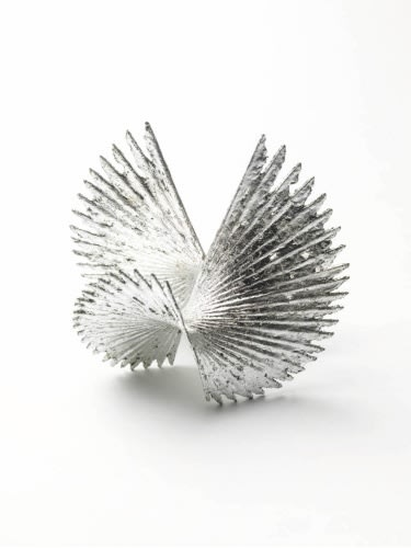 Charlotte Mayer, Rondel, 2016, Sterling Silver, 14.5 x 15 x 14 cm, Edition of 8