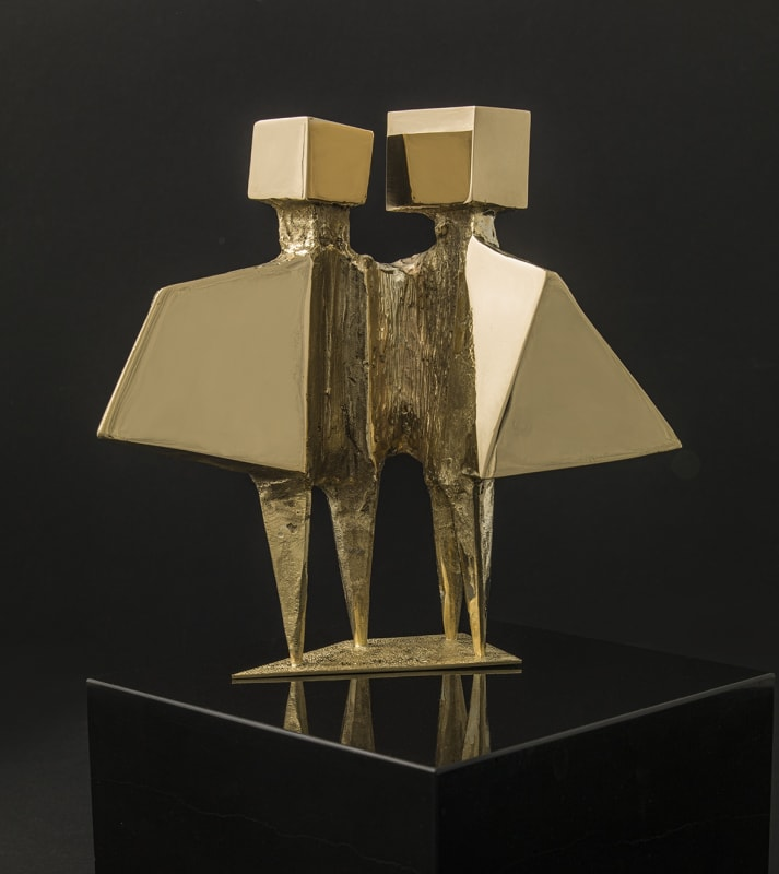 Lynn Chadwick, Winged Figures, 1971, Gold, Edition of 8