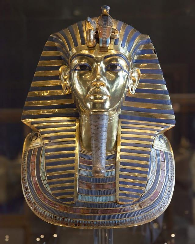 Tutankhamun's Mask in Cairo's Museum, © Roland Unger