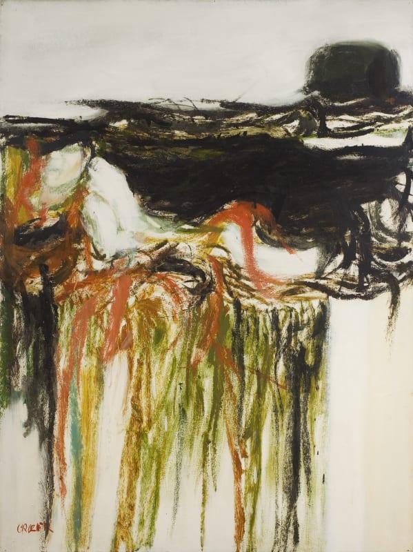 Untitled, c.1960. Oil on board, 120.5 x 90.5 cm, 47 1/2 x 35 5/8 in.