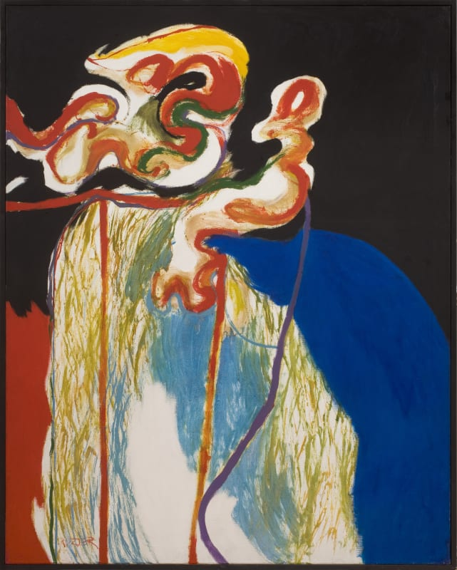 Enclosure End, 1964. Oil on canvas, 153 x 122 cm, 60 1/4 x 48 1/8 in.