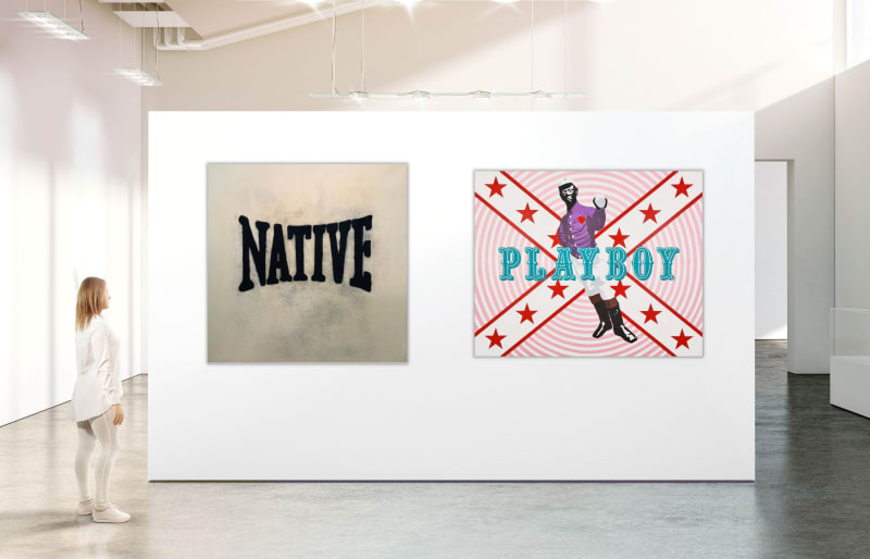 White Native Playboy