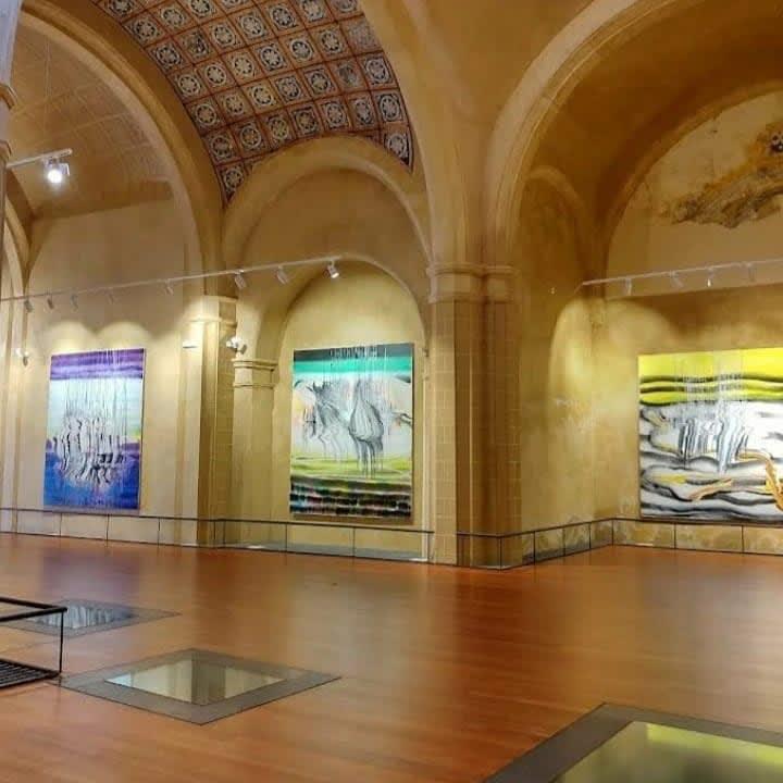 """Felicidad Moreno's Exhibition """"Cielos Líquidos"""""""