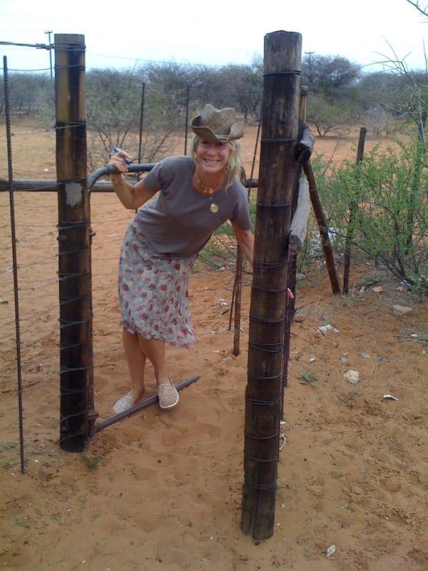 Rebecca's trip to the Kalahari desert to visit the African Bushmen