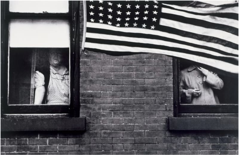 Parade Hoboken, New Jersey, 1955. From The Americans © Robert Frank