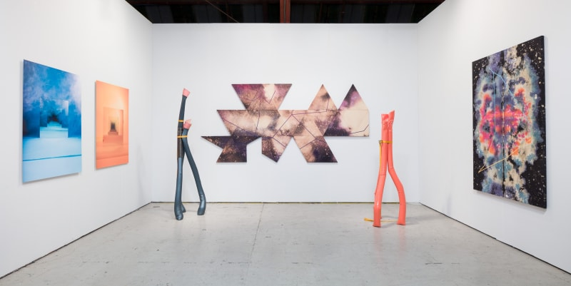 Theodore Boyer, Sarah Meyohas, and May Wilson, Art Los Angeles Contemporary, 2017