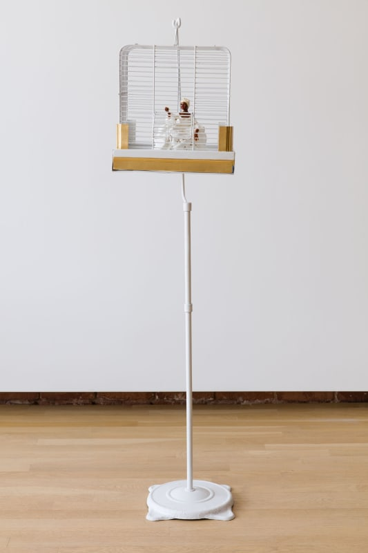 Genevieve Gaignard, The Caged Bird Sings of Freedom, 2017