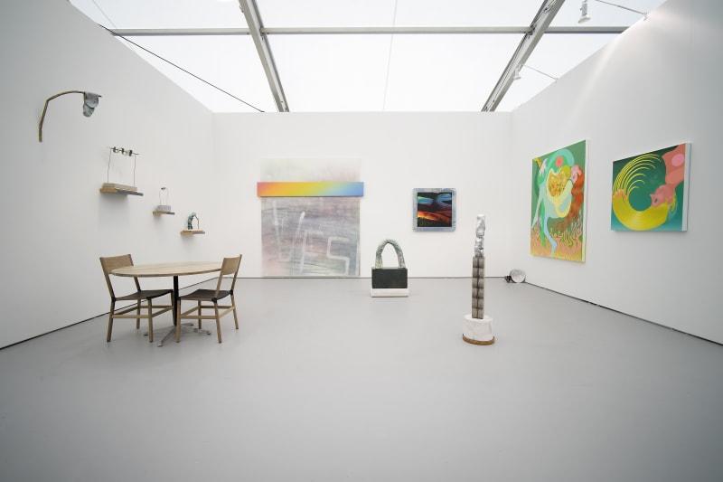 Wendell Gladstone, Wendy White, and Jake Ziemann, Untitled Miami 2017