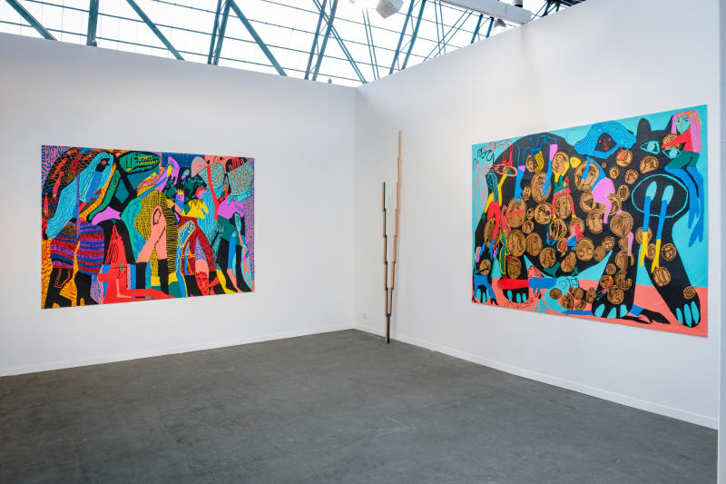 Chris Bogia, Reuven Israel, Michael Stamm, and Summer Wheat at Art Brussels 2019