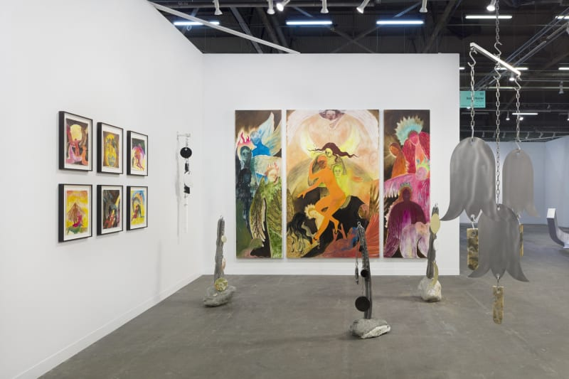 Naudline Pierre and Fay Ray, The Armory Show: Presents, 2019