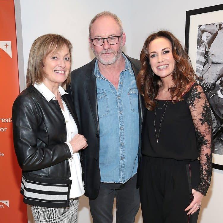 Mary Kennedy, Liam Cunningham & Lorraine Keane IMAGES: BRIAN McEVOY