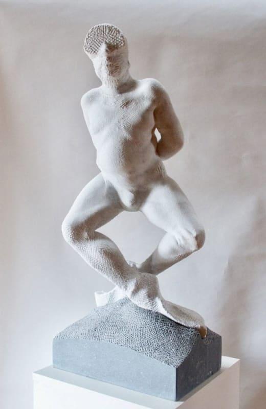 Michael Quane RHA Diver Carrara marble