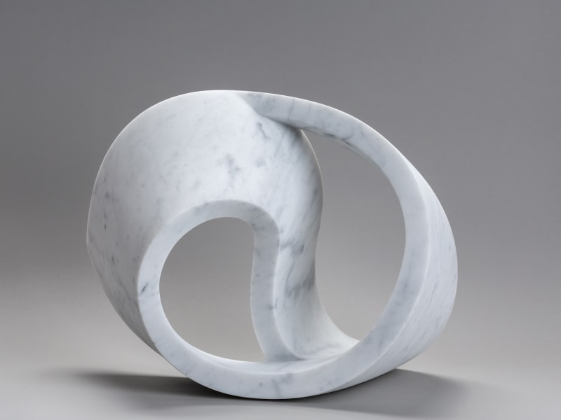 DOUBLE VOID Carrara marble 29.5 x 25.5 x 29.5 cm Edition of 3