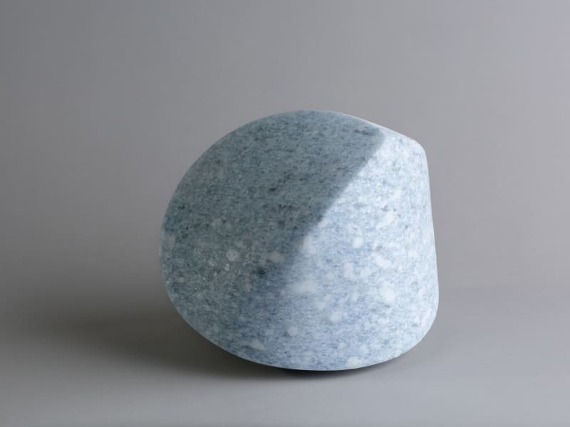 TRIPLE EDGE Blue Angola 17 x 17 x 20 cm Edition of 3