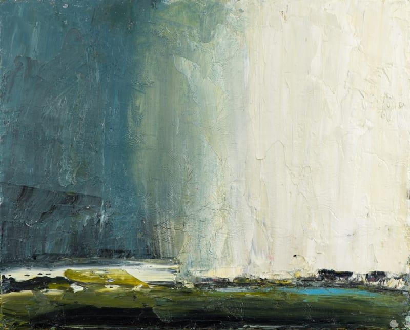 Carol Hodder, Coming Rain, oil on canvas, 40 x 50cm Artwork images courtesy of Rob Lamb