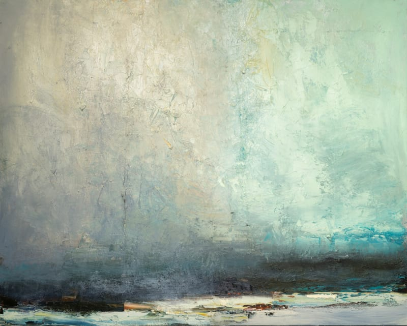 Carol Hodder, Facing North, oil on canvas, 120 x 150cm
