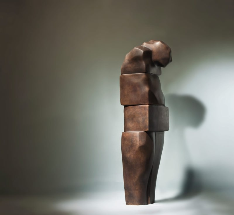 The Intuitive , 2019 Bronze 100 X 30 X 35. 1/4