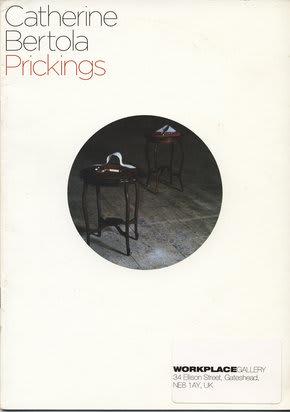 Catherine Bertola: Prickings