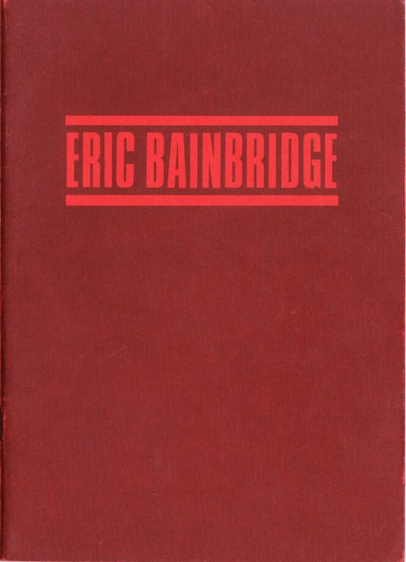 Eric Bainbridge Sculpture