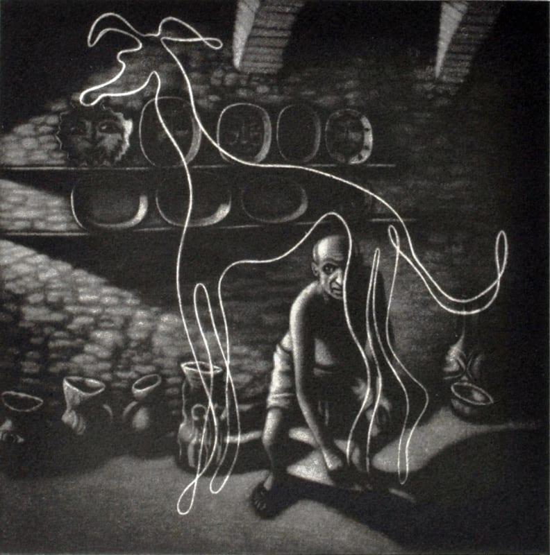 Mychael Barratt PPRE Hon. RWS, Picasso's dog