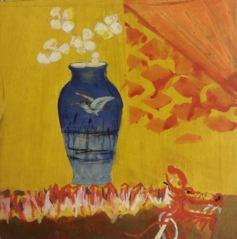 Janet Golphin RWS, Paper Dragon