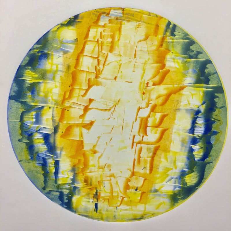 Howard Jeffs RE, Shimmering Light Circle