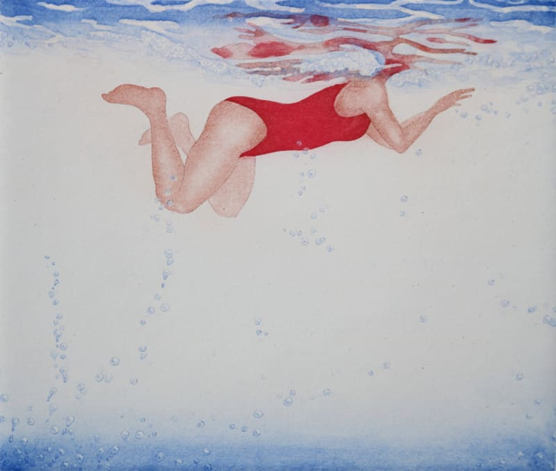 Emiko Aida RE, Swim around VI