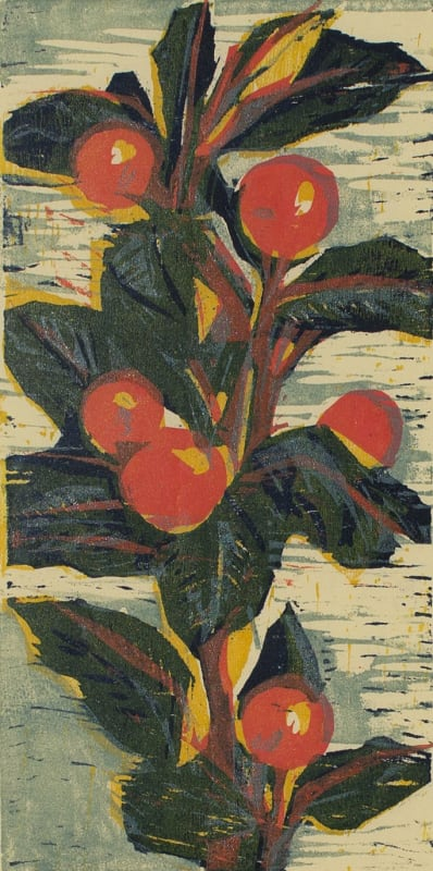 Hilary Daltry RE, Orange Sprig