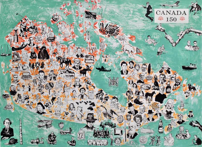 Mychael Barratt PPRE Hon. RWS, Canada 150