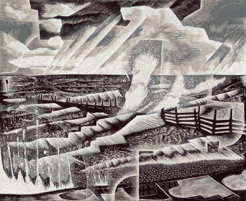 Neil Bousfield RE, Storm Past