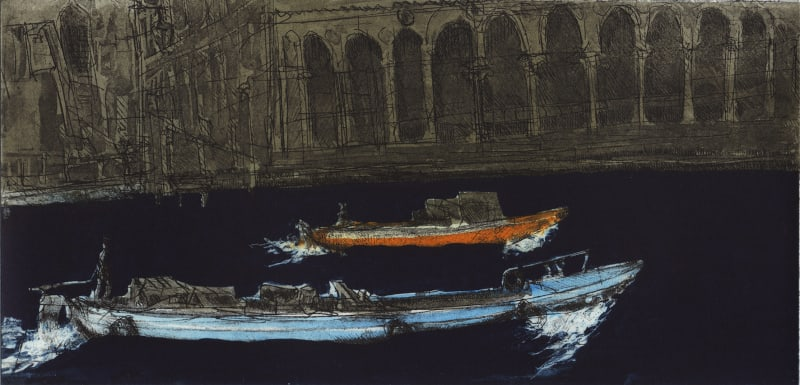 Ros Ford RE, Venice Boats VI (Canal Grande)