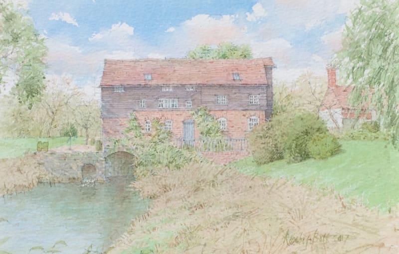 Dennis Roxby Bott RWS, Gibbons Mill, Billingshurst