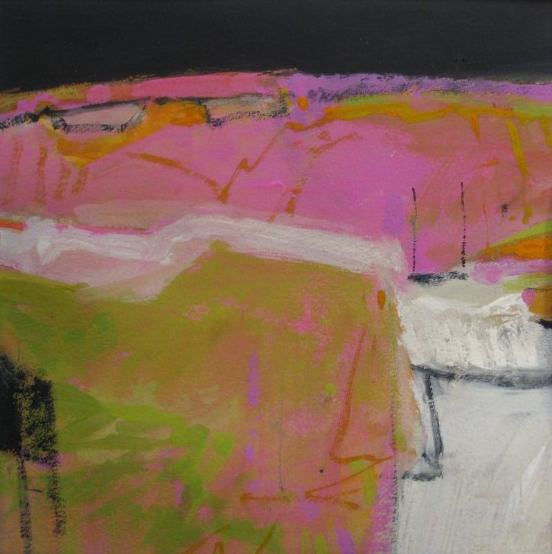Salliann Putman RWS, Pink Hills