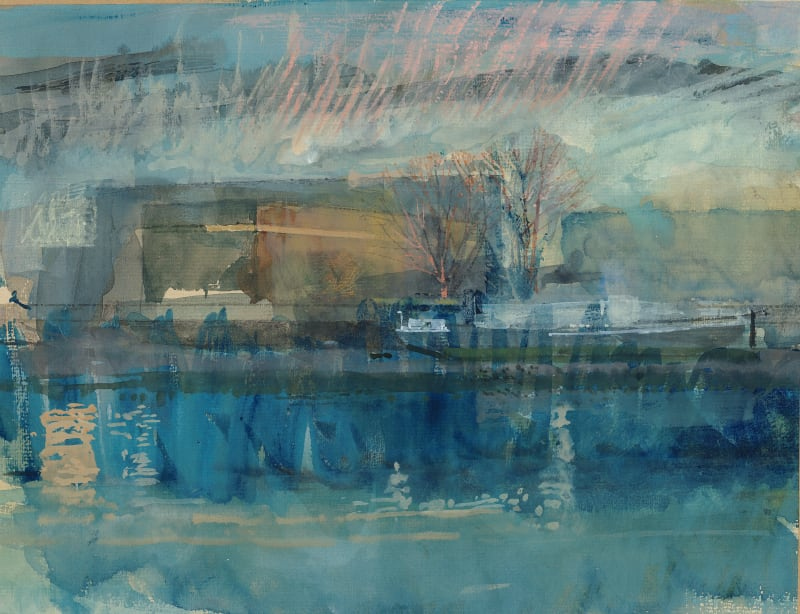 Paul Newland RWS, Thames: Low Tide