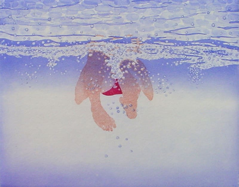 Emiko Aida RE, Swim around II