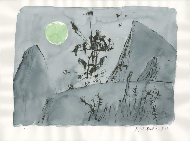 Quentin Blake Hon. RWS, The Moonlight Traveller