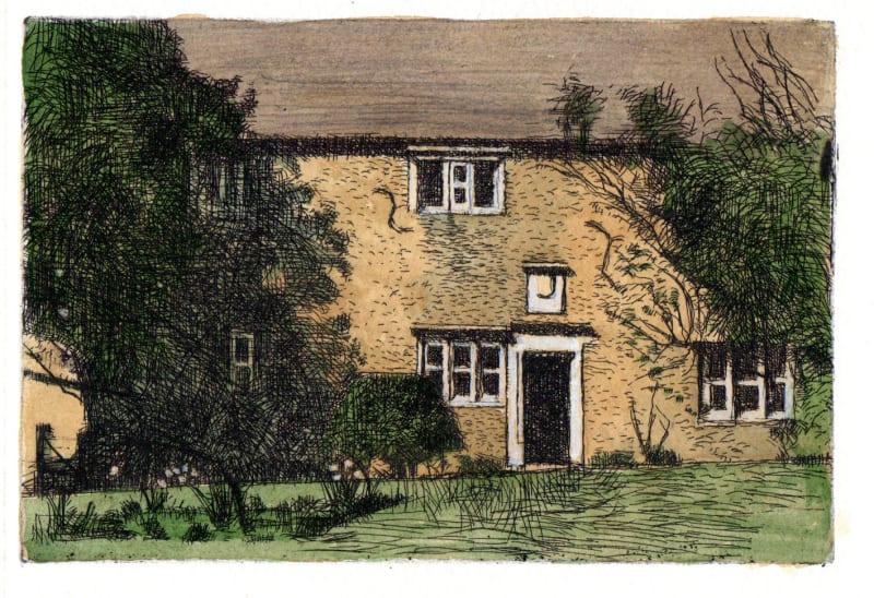 Michael Middleton RWS RE, Woolsthorpe Manor
