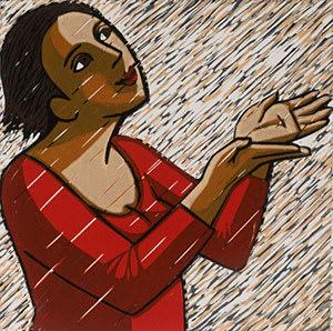 Anita Klein PPRE Hon. RWS, Rain