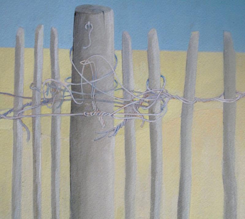 Wendy Jacob RWS, Tangled Wire
