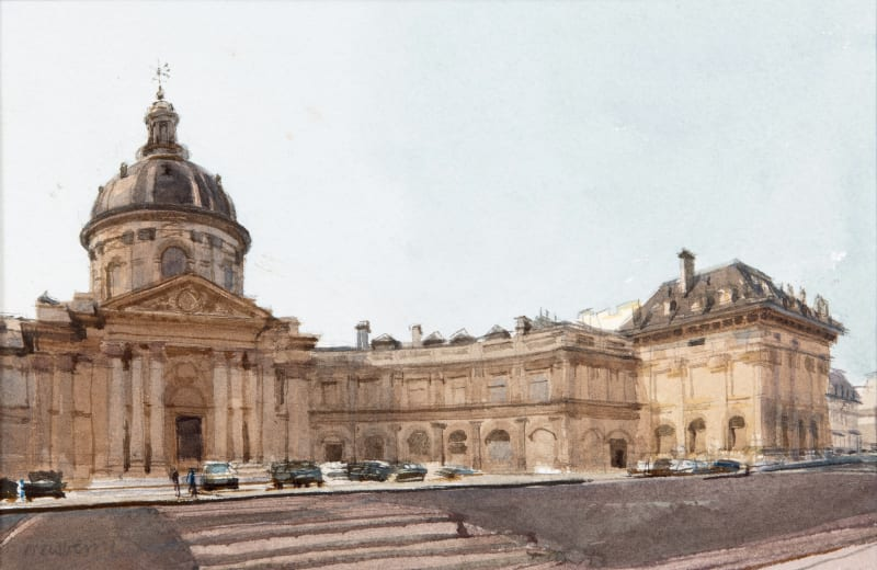 John Newberry RWS, L'Institut de France