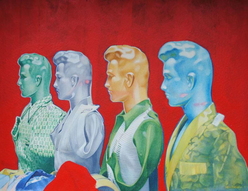 Denis Ryan RWS, Cairo Mannequins