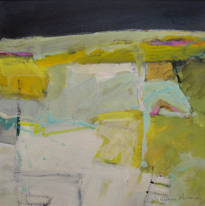 Salliann Putman RWS, Yellow Landscape
