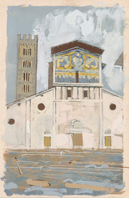 David Cass ARWS, Lucca as Florence (Flash Flood, 1966)