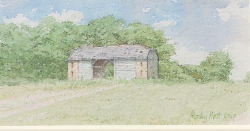 Dennis Roxby Bott RWS, Barn at Egdean, Petworth